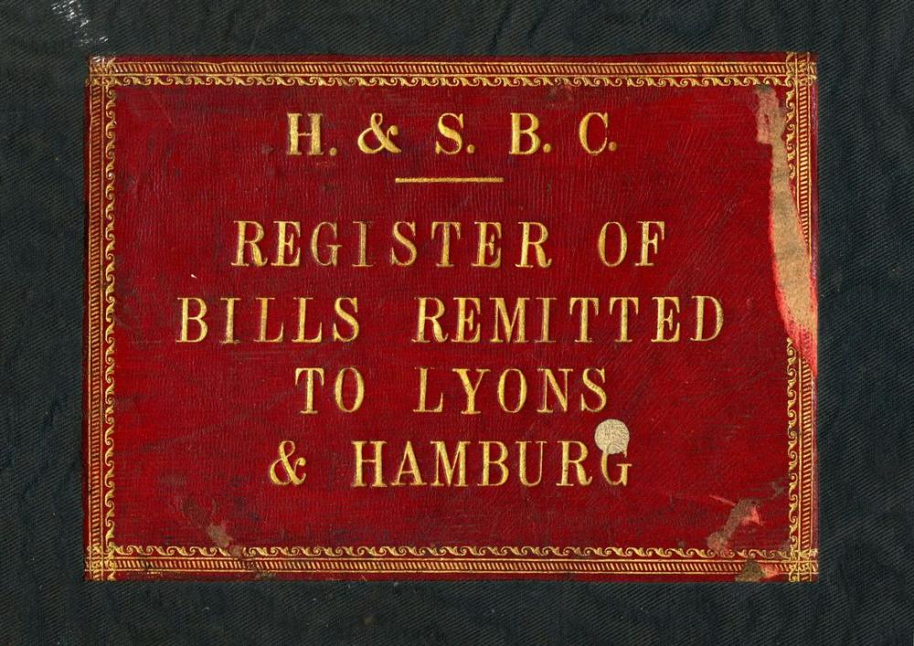 Bills register of the 1930s. Image courtesy of HSBC Archives.