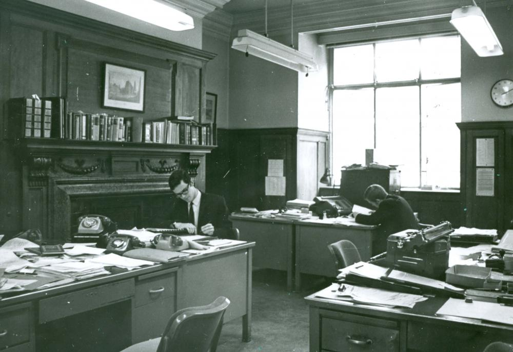 Barings' offices in the 1960s. Image courtesy of The Baring Archive.