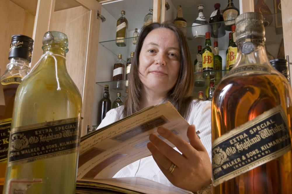 Christine McCafferty. Image courtesy of Diageo Archives.