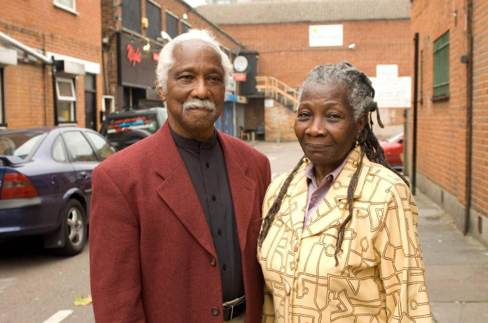 Eric and Jessica Huntley. Image courtesy of City of London Corporation.